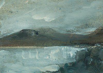 'North Wales Landscape' by John Knapp-Fisher signed