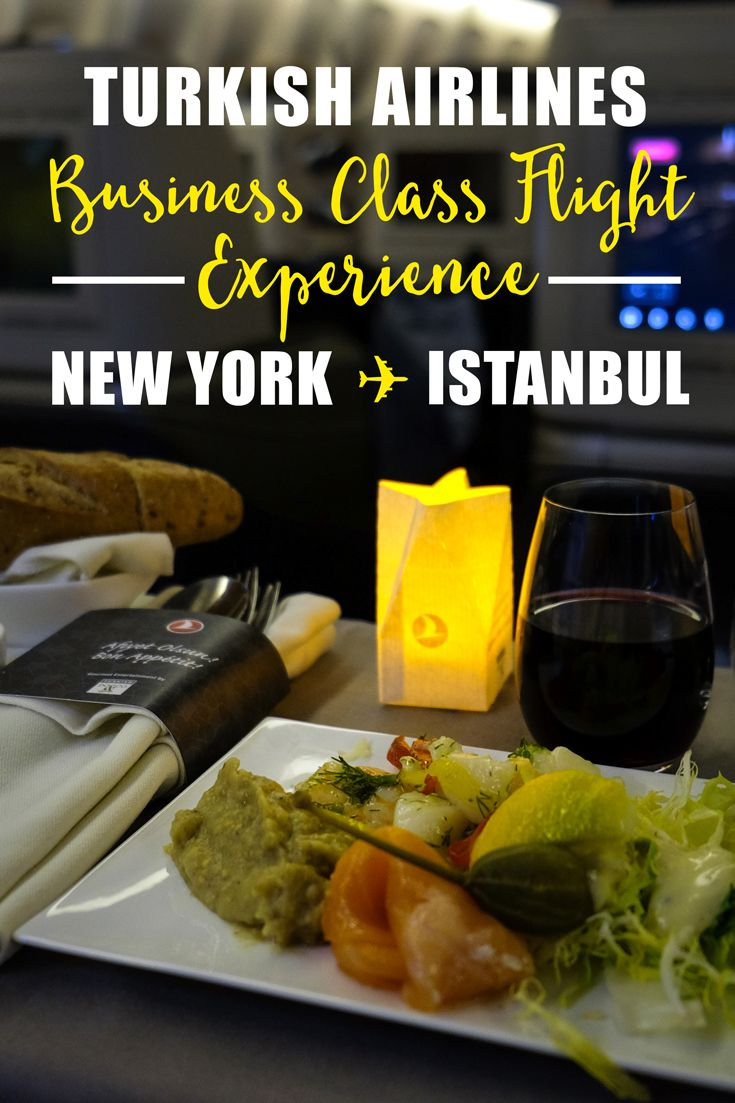 When you fly business class- you've gotta make the most of it. The Turkish Airlines Business class flight experience from New York to Istanbul is one of the best air travel experiences in the world.