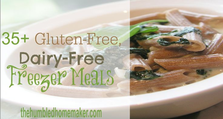 Check out this list of 35+ gluten-free, dairy-free freezer meals!