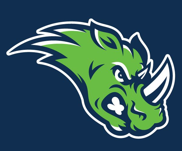 Team Rhinos logo for SportsJammies http://sportdrawn.wordpress.com
