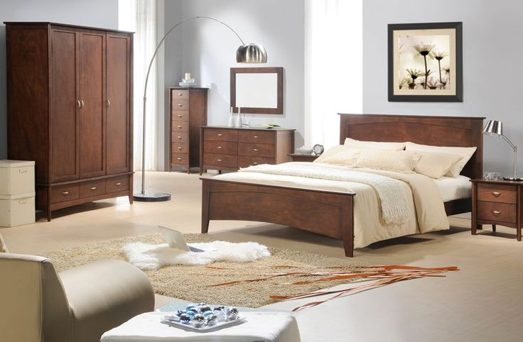 Minnesota Dark Wood King Size Bed Sale Now On Your Price Furniture