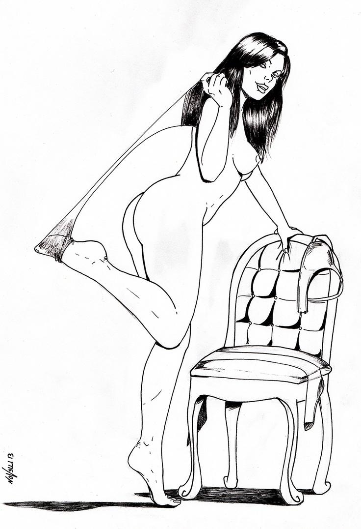 "Rude Awakening Comix | Pin Up, Fumetti, Illustrazioni di Max ""Helldorado"" Novelli http://rudecomix.wordpress.com/"