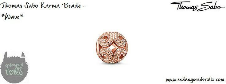 Thomas Sabo Karma Beads Wave (rose gold)