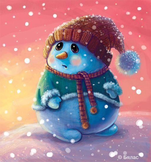 прекрасно картинки милых снеговиков вскоре