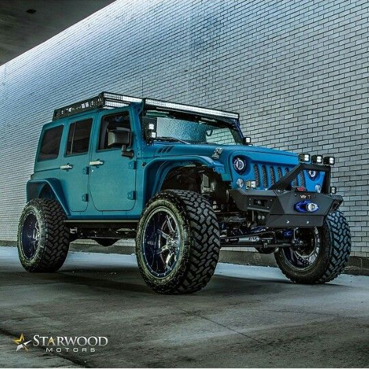 I died and went to jeep heaven! I need one asap!