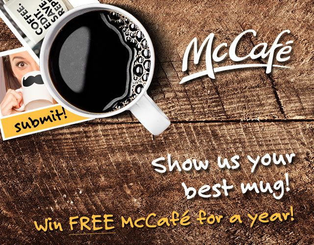 Do you want to win a year's supply of coffee from #McCafe and @Albertsons? Enter here:  http://fabulesslyfrugal.com/win-a-year-of-mccafe/