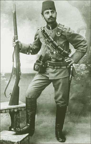 WW1, Turkish soldier, 1914.Find our speedloader now! http://www.amazon.com/shops/raeind