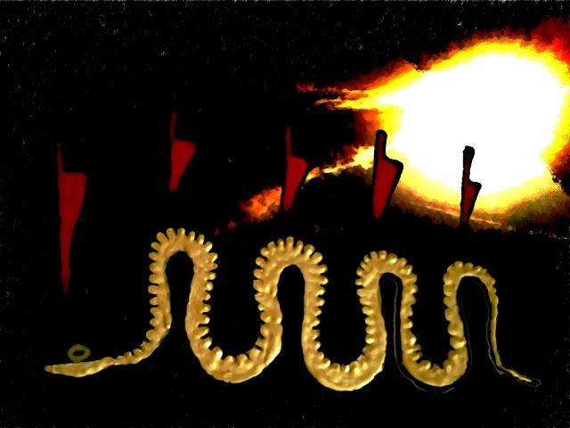 Diesmal wird es etwas epischer und vor allem praktischer als sonst: Es soll jedem Leser ermöglicht werden den Sonnengott Ra rituell bei seinem Kampf gegen die weltbedrohende Riesenschlange Apep/Apophis zu unterstützen, die ihm Nacht für Nacht auf seiner Unterweltreise auflauert. Zum Artikel: http://nebel-all-raunen.blogspot.de/2012/08/ritual-kampf-gegen-apep.html