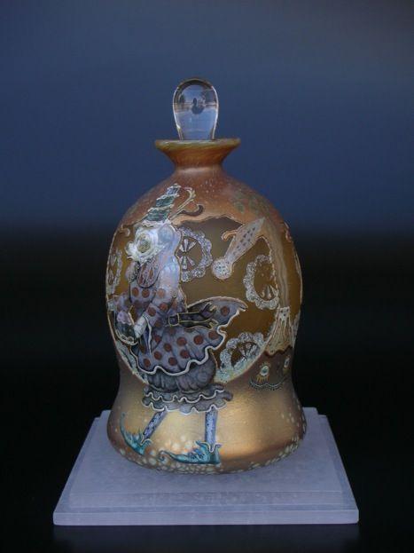 Klaus Haapaniemi art glass for Isetan