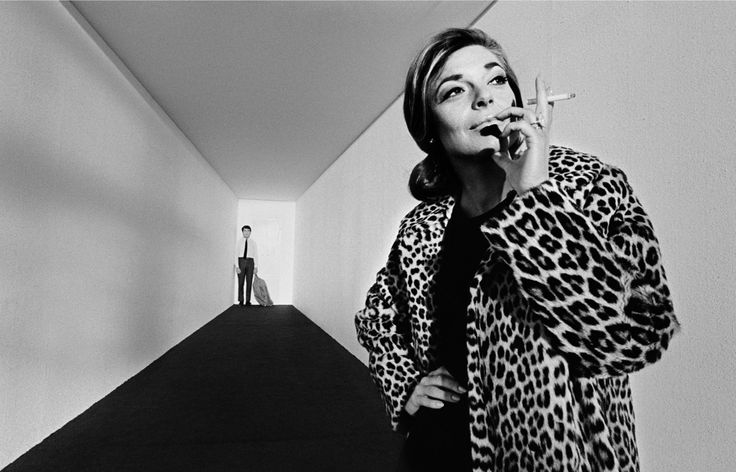 Dustin Hoffman and Anne Bancroft for The Graduate directed by Mike Nichols, 1967. Photo by Bob Willoughby