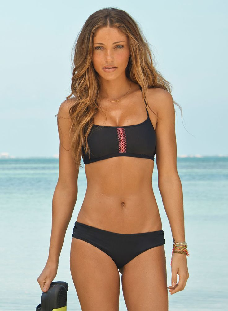 Women's Cute Bikini Top Cute Bikini Tops, Sports Bikinis & Two Piece Swimwear Sports bikini tops complement the rest of your athletic swimwear. Mix and match athletic bikinis with your cute swim bottoms, and look for more sporty swim bottoms in our collection.