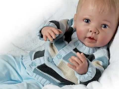 Linda Murray Noah's Happy As Can Be ''Realistic Interactive Baby Boy Doll''