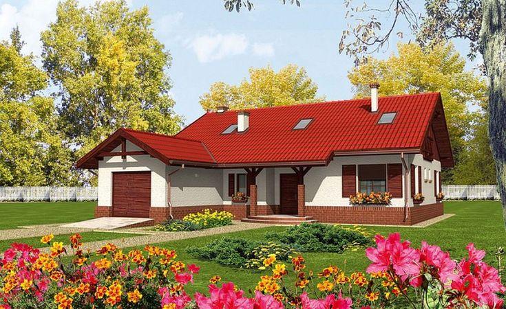 Proiecte de case mici pe un singur nivel