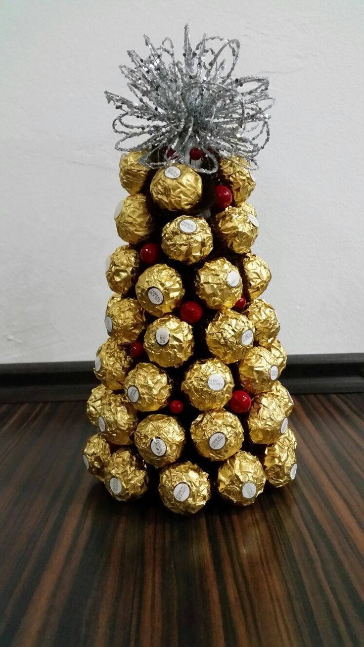 Ferrero xmas tree