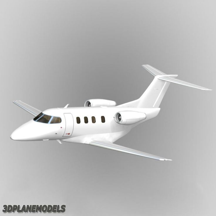 Embraer Phenom 100 Generic Dxf - 3D Model