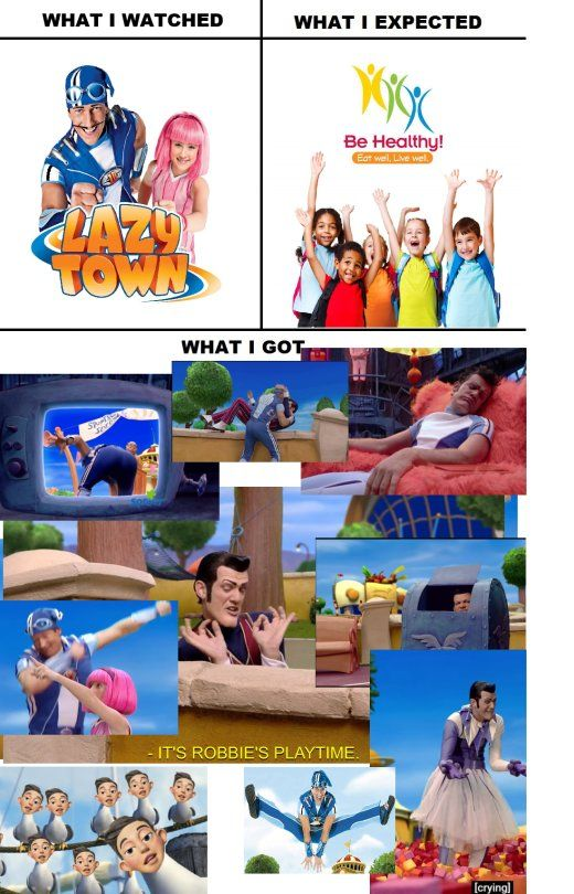 WHAT I WATCHED / WHAT I EXPECTED / WHAT I GOT | lazy town