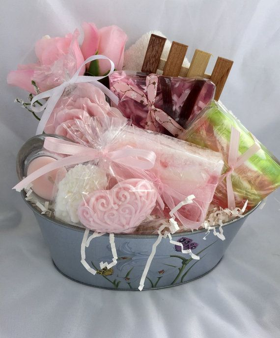 Mothers Day Gift Basket Mothers Day Soap by SeasideSoapKitchen