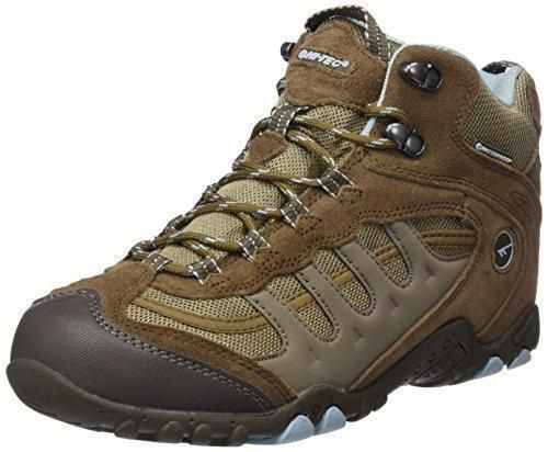 Oferta: 35.34€. Comprar Ofertas de Hi-Tec - Penrith Mid Waterproof, Zapatos de High Rise Senderismo Mujer, Marrón (Brown/Light Blue 041), 39 EU barato. ¡Mira las ofertas!