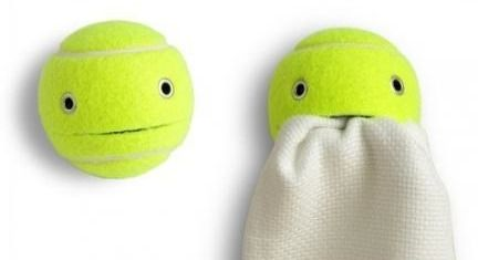 Adorable Tennis Ball Helper
