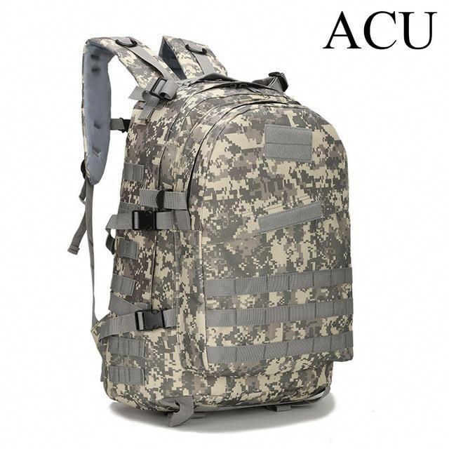 40L Military Tactical Backpack Rucksack Hiking Camping Daypack Trekking Bag
