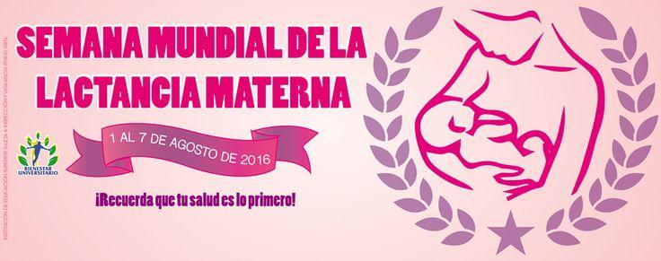"""Juan de Castellanos :: Fundación Universitaria - Semana mundial de la lactancia materna """"La primer vacuna de tu bebé"""""""