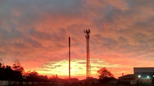 El cielo se tiñe de color