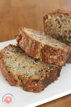 Copycat Starbucks Banana Bread--added chocolate chips, no walnuts, used egg replacer. Would like to add something so that it's moister.