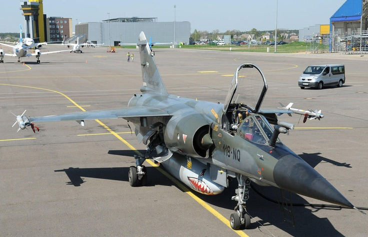 French Air Force Dassault Mirage F.1DCR participating in NATO Excercise Air Baltic 2013