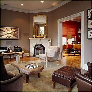 115 best images about corner fireplace on pinterest - What to put in corner of living room ...