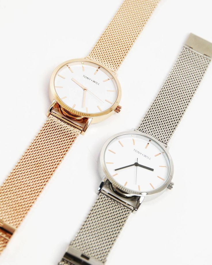 Instagram // Time for the favourites. Shop our mesh range online now. #tonyandwill #watch #instagram