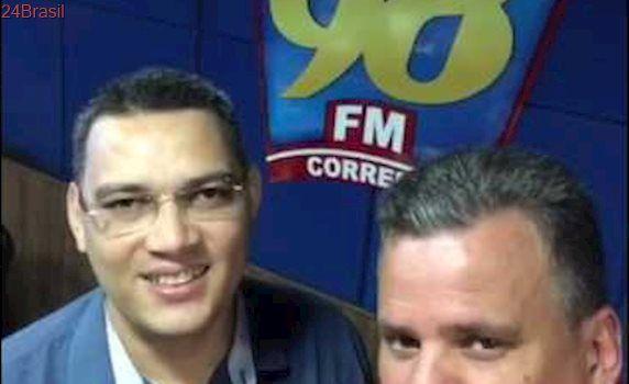 Emerson Machado estreia com comentarista no programa 'Balanço Geral' da Rádio Correio