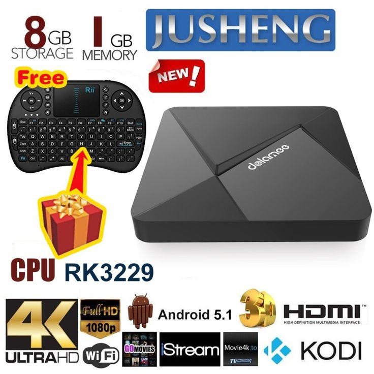 รีวิว สินค้า JUSHENG [Free Wireless Mini keyboard] DOLAMEE D5 Android 5.1 TV Box 1G/8G RK3229 Quad Core CPU XBMC Kodi 16.0 Fully Loaded TV Box 4K Dual Band Streaming Media Player ⛄ ซื้อ JUSHENG [Free Wireless Mini keyboard] DOLAMEE D5 Android 5.1 TV Box 1G/8G RK3229 Quad Core CPU XBMC  ลดสูงสุด | promotionJUSHENG [Free Wireless Mini keyboard] DOLAMEE D5 Android 5.1 TV Box 1G/8G RK3229 Quad Core CPU XBMC Kodi 16.0 Fully Loaded TV Box 4K Dual Band Streaming Media Player  ข้อมูลทั้งหมด…