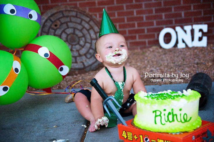 First Birthday Cake Boy