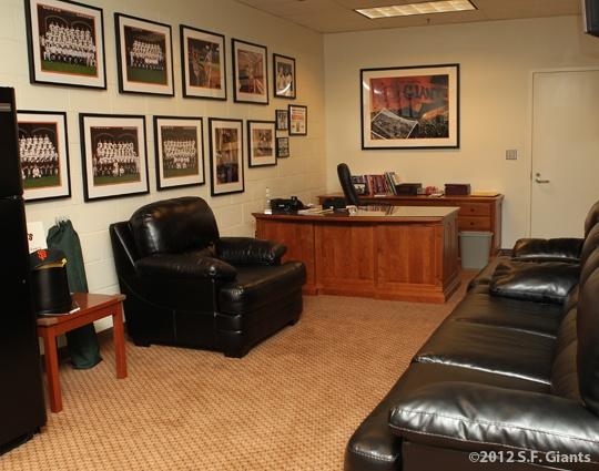 Bruce Bochy's Office - #SFGiants