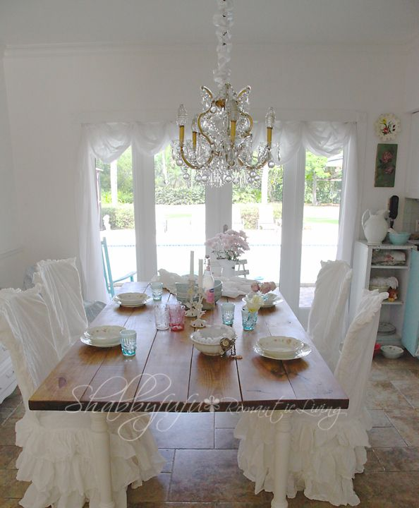 17 Best Images About Shabby~Chair Covers On Pinterest