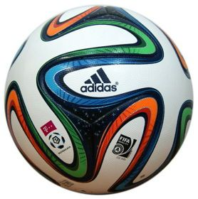 Piłka nożna adidas Brazuca OMB Ekstraklasa M35837. Oficjalna piłka meczowa T-Mobile Ekstraklasa na sezon 2014/15. #pilkanozna #pilkameczowa  #sportyduzynowe
