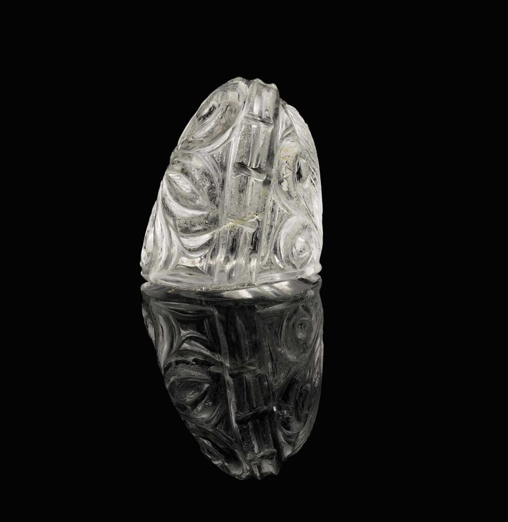Lot 100 is a rock-crystal chess piece from 11th-century Egypt, which must have belonged to a set carved for a distinguished figure in the Fatimid or Abbasid Caliphate (est £80-100,000). How such a tiny nugget of beauty, just 4cm high, managed to survive down the centuries is simply astonishing.