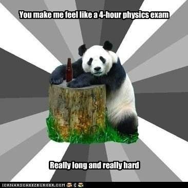 Pickup Line Panda: Physics Rocks