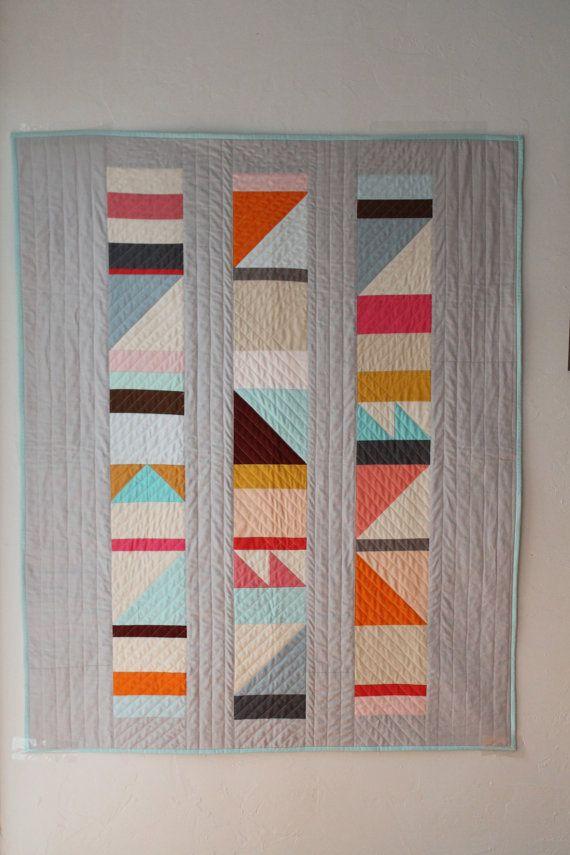 Best 25+ Geometric quilt ideas on Pinterest   Modern quilt ... : modern designer quilts - Adamdwight.com