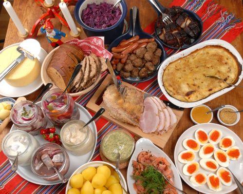 Svenskt julbord - Traditional Swedish Christmas Smörgåsbord