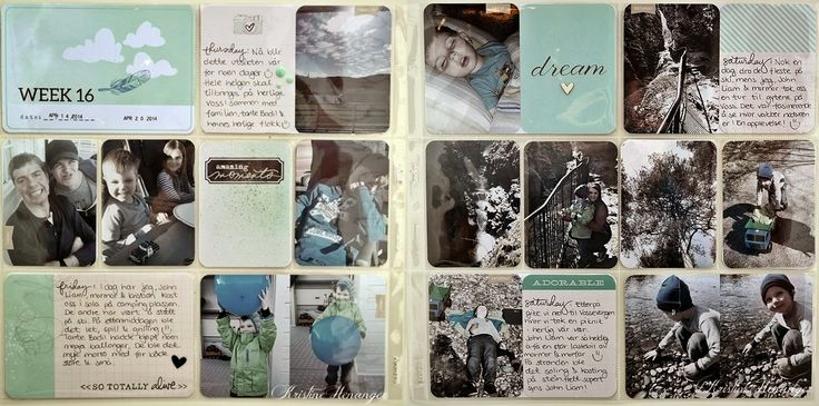 DT KREATIV SCRAPPING.NO - PROJECT LIFE 2014 - WEEK 16 - BY KRISTINE HENANGER