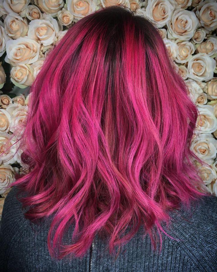 best 25 magenta hair ideas on pinterest purple hair violet hair and fun hair cuts. Black Bedroom Furniture Sets. Home Design Ideas