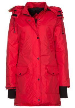 Ltb Helgat Abrigo De Plumas Space Red abrigos y chaquetas Space red Plumas Ltb Helgat Abrigo CentralModa.eu