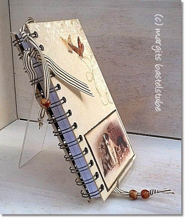 Schmaler Buchkalender / Timeplaner