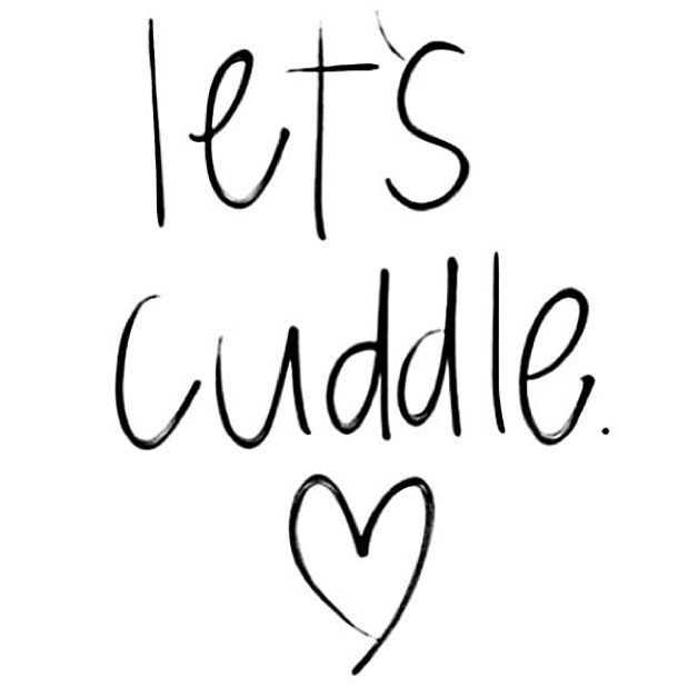 Was so hard to get out of bed and come to work this morning. I wanted to stay and #cuddle more