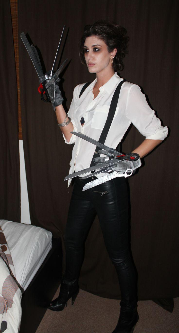 edward scissorhands costume - Google Search