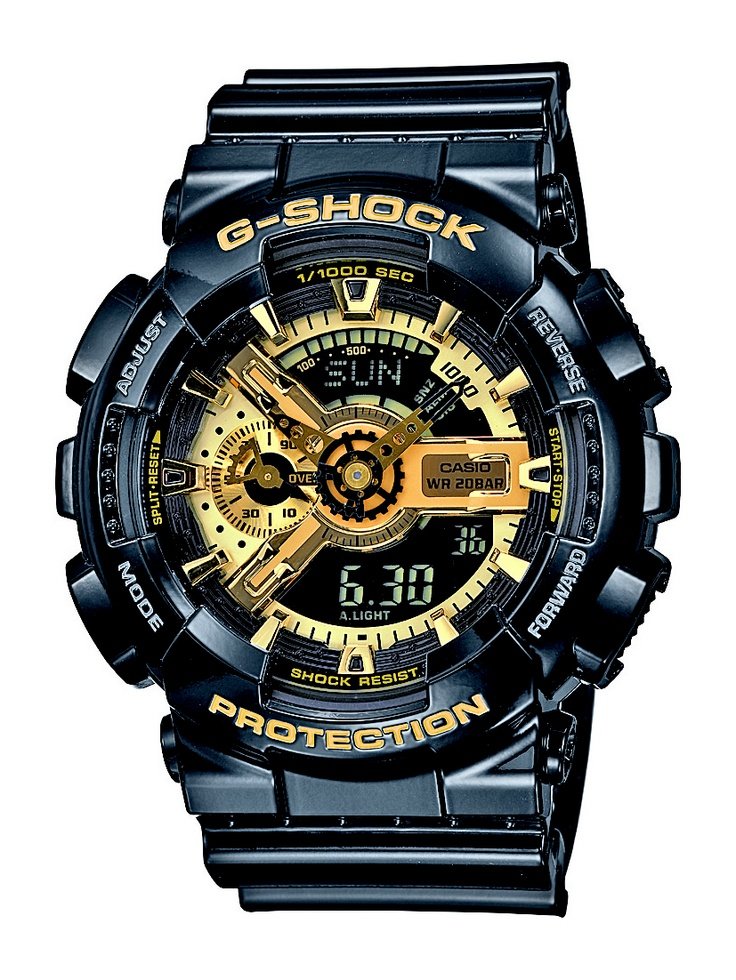 Sleek and innovative! GA110GB-1 G-Shock Watch by Casio for about $150