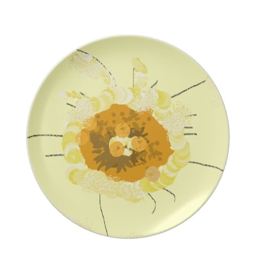 Flower Party Plates