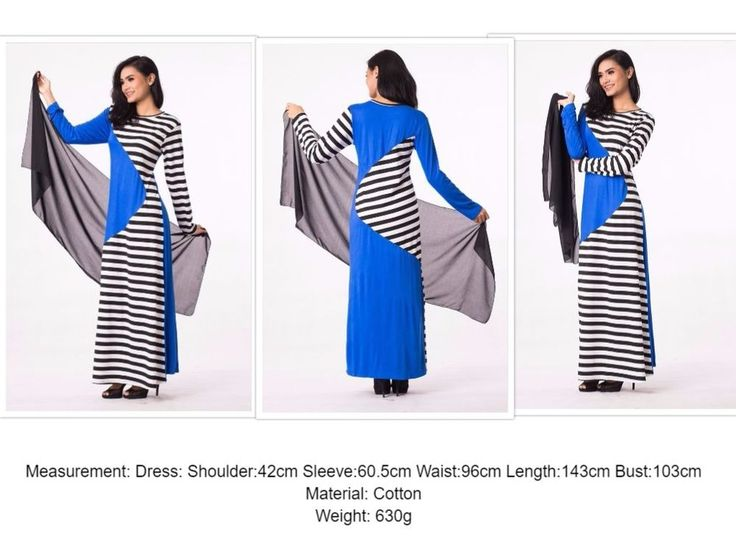 UK Summer Cotton Stripes Design Modern Abaya Farasha Burkha Jalabiya Maxi Dress #Zafirah