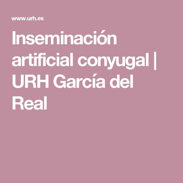 Inseminación artificial conyugal | URH García del Real